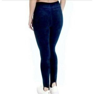 New Juicy Couture Blue Velour High Rise Stirrup